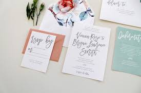 Customizable Wedding Invitations Custom Wedding Invitations Charlotte Nc Calligraphy Wedding