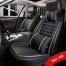 nouveau siege auto nouveau pu en cuir de luxe housses de siège de voiture auto