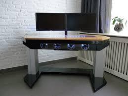 Computer Desk Design Living Room Nice Interesting Custom Computer Desk Astounding