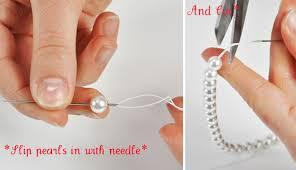 pearls bracelet diy images Diy valentine 39 s day pearl bracelet m j blog jpg