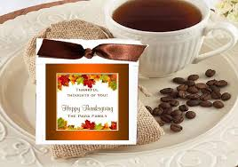 thanksgiving coffee singles favors pavia favors