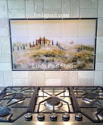 kitchen backsplash tile medallions flooring metal backsplash