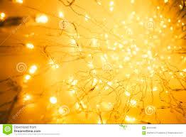 lights garland abstract blurred led light yellow lighting bokeh