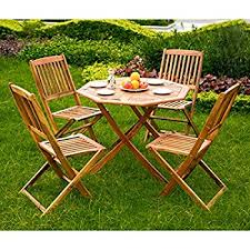 wooden garden dining table and chairs set 100 acacia hardwood 4