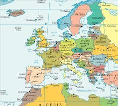 map usa to europe map of europe the nurses usa worldnomads