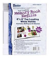 Recollections Photo Album Refills Recollections 12 X 12 Page Protector Scrapbook Album Refills 10