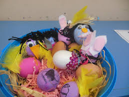 Decorating Easter Eggs Dinosaur by Easter Egg Catforth Primary