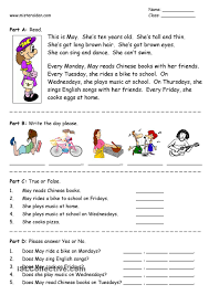 Free Printable Music Worksheets Free Printable Reading Worksheets Worksheet Mogenk Paper Works