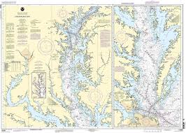 Norfolk Va Zip Code Map by Amazon Com 12280 Chesapeake Bay Fishing Charts And Maps