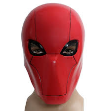 mask for halloween party amazon com xcoser red hood mask helmet costume props for