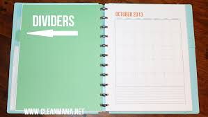 your own planner how to make a discbound planner clean