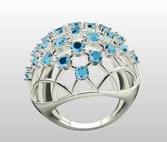free print ready rings 3d 3d print model fancy air mesh ring cgtrader