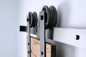 modern sliding barn door hardware kit u2013 hingeless