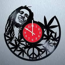 bob marley mellow mood vinyl record unique wall clock vinyl clocks