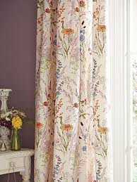 Duck Egg Blue Floral Curtains Ready Made Curtains Our Pick Of The Best Ideal Home