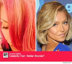 hair color kelly ripa uses kelly ripa dyes her hair pink teases she might go red next