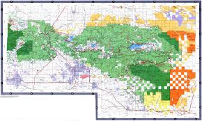 Map Of San Bernardino California Gentry Off Road California San Bernardino National Forest