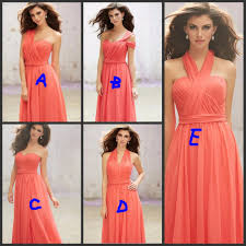 coral plus size bridesmaid dresses coral bridesmaid dresses picture more detailed picture about