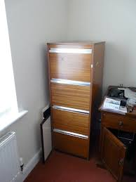 Solid Wood Filing Cabinets by 4 Drawer Solid Wood Filing Cabinet In Ely Cambridgeshire Gumtree