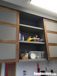 diy kitchen cupboard door ideas easy diy sliding doors for cabinets sawdust