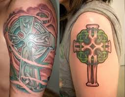 fabulous celtic cross tattoos creativefan