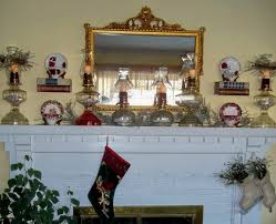 Window Christmas Decorations by Organized Clutter Christmas Decorating 2011 A Romantic Mantel