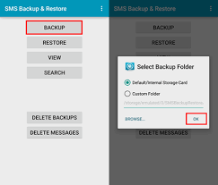 android sms backup how to backup and restore android sms