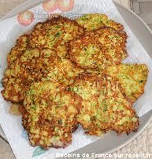 cuisiner courgettes poele recette râpés de courgette sur recoin fr