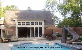 glass door website solar innovations inc introduces folding glass wall and door