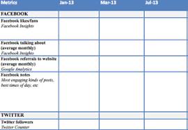 Social Media Tracking Spreadsheet by Social Media Measurement Worksheet Resource Media