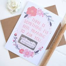 Will You Be My Maid Of Honor Ideas Best U0027will You Be My Bridesmaid U0027 Ideas Envy Events Wedding Hire