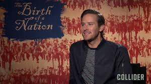 the birth of a nation armie hammer on filming the dramatic events