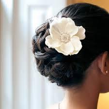 Hochsteckfrisurenen Bilder Hochzeit by Hochsteckfrisur Haar Modell Hochzeit Hochsteckfrisur Mit Blumen