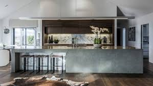 Kitchen Design Christchurch Raw U0027 Materials And A Huge Scullery Add Wow Factor To Award Winning