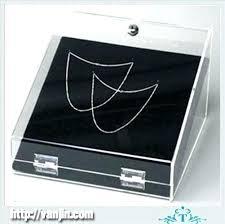 necklace display case images Locking jewelry display case badone club jpg