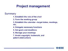 ieee project management