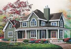 5 Bedroom Cottage House Plans House Plan W6804 Detail From Drummondhouseplans Com