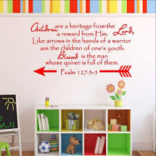Scripture Wall Decals For Nursery Children Are A Heritage From The Lord Scripture Wall Decal Psalm 127