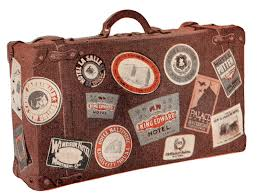 travel suitcase images Thursday is request day vintage luggage child baking grand bed jpg