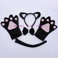 60cm Black Halloween Cat Tail Fancy Dress Accessories Animal by Cheap Cat Tail Costumes Free Shipping Cat Tail Costumes Under