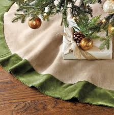 pottery barn tree skirt stunning all images with pottery barn