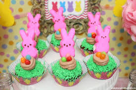 Easter Cake Decorating Ideas With Peeps by Peeps Easter Party Ideas Moms U0026 Munchkins