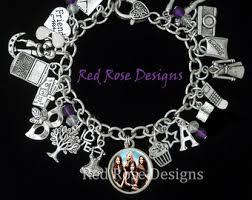 Paris Themed Charm Bracelet Pretty Little Liars