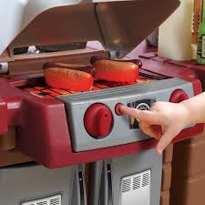 amazon com step2 grand walk in kitchen and grill brown tan