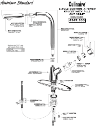 kitchen faucet parts names standard faucet white finger