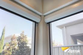 Track Guided Outdoor Blinds Ziptrak Options U2014 Robertsons Blinds And Awnings