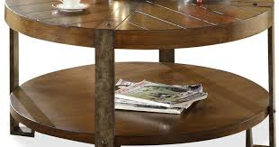 absorbed round coffee table with storage tags tray coffee table
