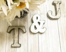 Home Decor Letters Of Alphabet Alphabet Letter Etsy
