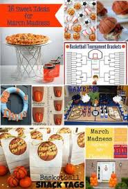 March Madness Decorations Get Ready For March Madness With Basketball Party Ideas