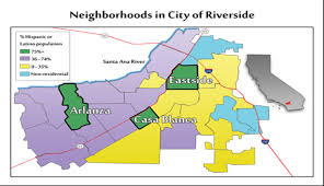 Map Of Riverside Ca Center For Healthy Communities Latino Health Riverside